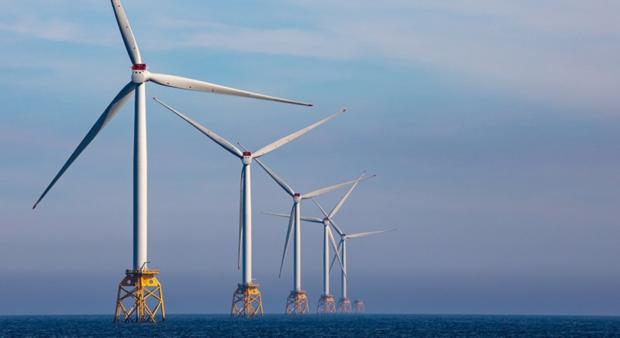 Beatrice wind farm. Photo credit SSE