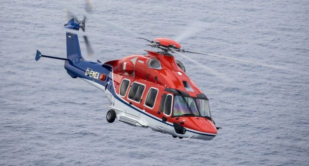 A CHC-operated H175 helicopter.