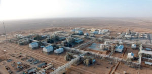 The Rabab Harweel Integrated Project in the Southern Omani desert.