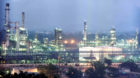 A Reliance Industries Ltd. petrochemical plant is pictured at night in Jamnagar, Gujarat, India, on December, 2004.  Photographer: RAJAN CHAUGHULE/Bloomberg