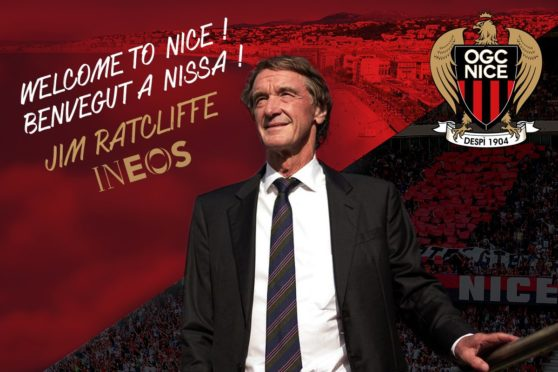 Britain's richest person Jim Ratcliffe, the founder of the INEOS Chemicals company. PIC: OGC Nice