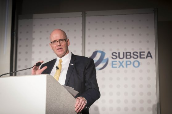 Neil Gordon, chief executive of Subsea UK at Subsea Expo 2019