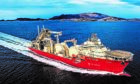 The Deep Energy, TechnipFMC's state-of-the-art pipelay vessel