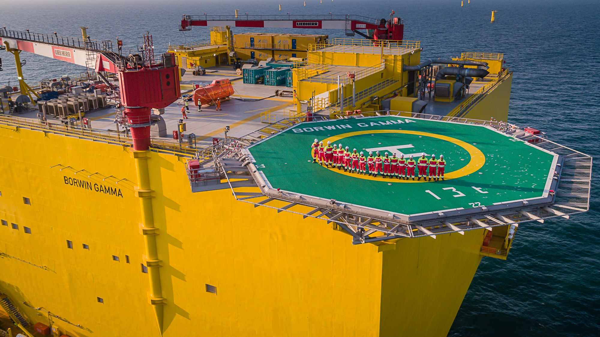 Petrofac completes offshore wind project in German North Sea
