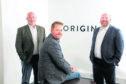 Power trio: Origin Integrity Management directors, from left, Phil Surtees, John Marsden and Steve McKenny have come back together
