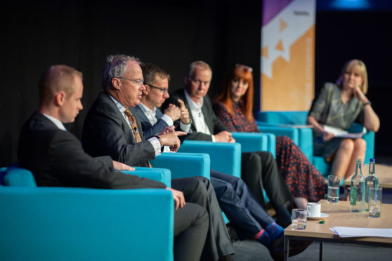 The panel at Oil and Gas UK's Economic Report launch breakfast.
