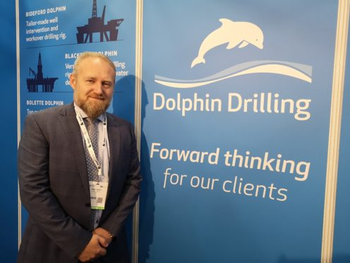 """Dolphin Drilling CEO Bjornar Iversen said the firm has had a """"rebirth"""" after going debt-free and choosing Aberdeen as its international headquarters."""