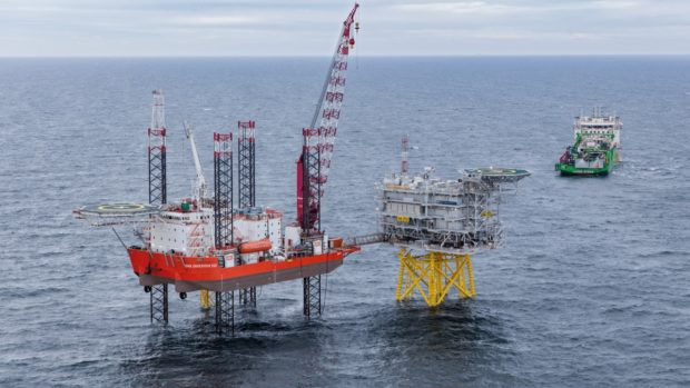 GMS Endeavour at Hornsea