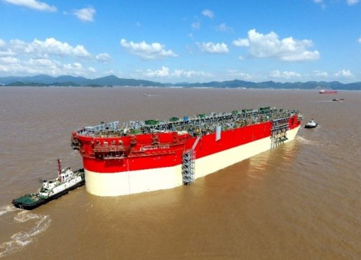 The FPSO is due to begin producing from the Karish field in early 2021