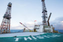 The Thistle Alpha platform was evacuated last month following a subsea structural inspection.