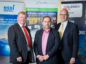 Photo from L- R: Tony Laing of NSRI, Subsea UK's tech arm, David Rennie of Scottish Enterprise and Neil Gordon of Subsea UK.