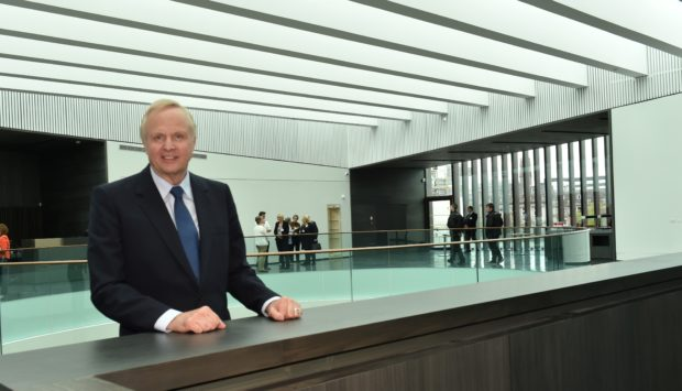 BP CEO Bob Dudley pictured in Aberdeen earlier this year.