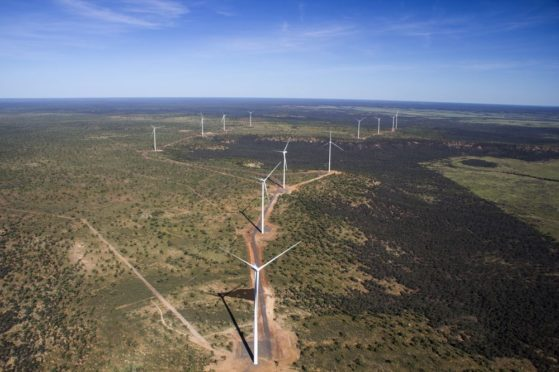TheKennedy Energy Park in northern Queensland state.