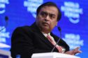 Mukesh Ambani, billionaire and chairman and managing director of Reliance Industries Ltd. Photographer: Simon Dawson/Bloomberg