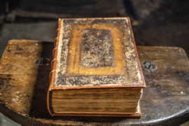 400-year-old Bible being protected by hydropower