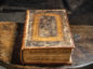 Handout photo issued by National Trust Images/Iolo Penri showing the first Bible, more than 400 years old, which is being protected from damage with the help of hydro-power at the 16th century farmhouse Ty Mawr Wybrnant, near Betws-y-Coed, Snowdonia, where it is on display.