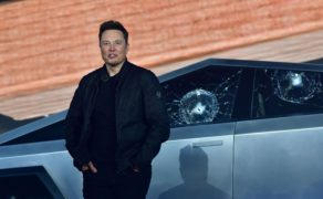 Embarrassment for Musk as Tesla 'shatterproof cybertruck' doesn't pass muster