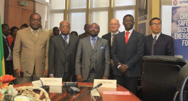 The CNOOC signing ceremony on the two new blocks