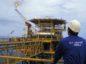 A platform located off Angola.