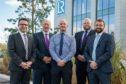 (L-R) Melvin Banford, John O'Neill, Derek Harrold, Steve Harris and Matt Rothnie. Picture by Euan Duff / Abermedia
