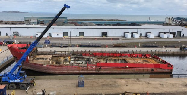 HIGH STANDARD: Dales Marine offers facilities at Leith dry dock as well as Aberdeen, Grangemouth, Greenock and Troon for a variety of vessels