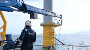 Rovco completes £1million inspection work at Galloper wind farm