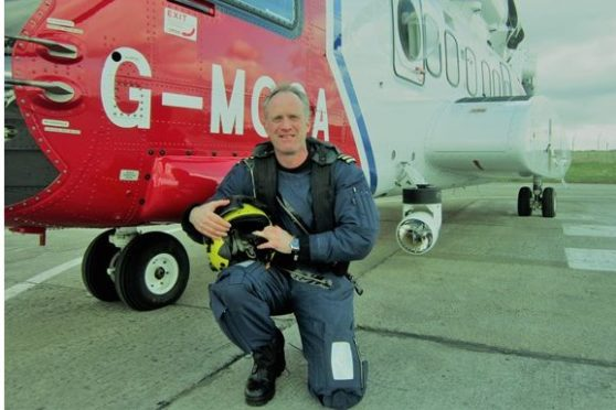 North Sea helicopter pilot Gary Queen