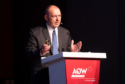 Aker Energy's outgoing CEO Jan Arve Haugan, talking at Africa Oil Week