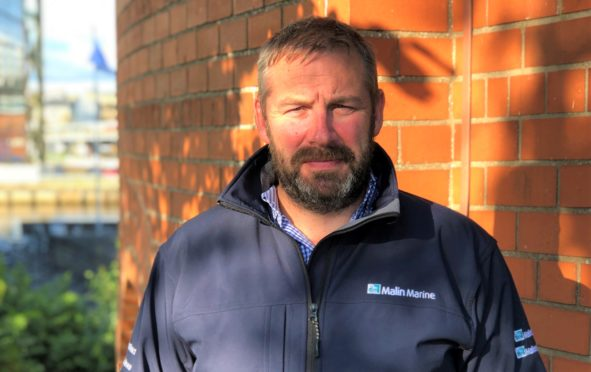 Ben Sharples, director of Malin Marine.