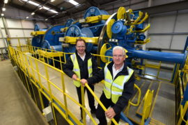 Spirits high at Hydrasun as new kit springs into life