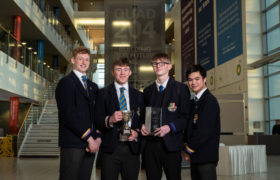 Robert Gordon's College wins Stem in the Pipeline top prize