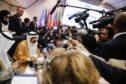 Khalid Al-Falih ahead of the 176th OPEC meeting in Vienna in July 2019. Photographer: Stefan Wermuth/Bloomberg