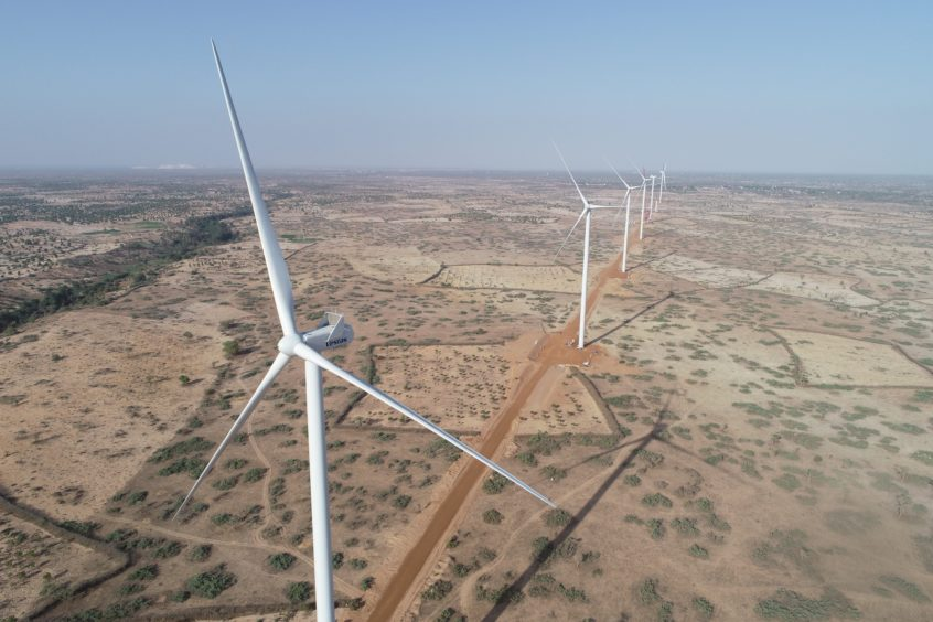 Wind power flows into Senegal's grid system for first time