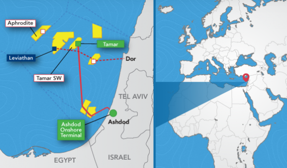 Giant Israel gas field brings energy security and health ...