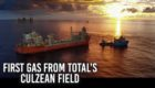 The video looks at some of the major developments of the last 12 months, including first gas from Total's Culzean project.